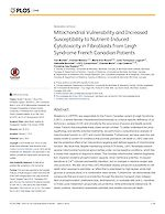 Mitochondrial vulnerability and increased susceptibility to nutrient-induced cytotoxicity in fibroblasts from leigh syndrome French canadian patients.