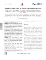 Pivotal preclinical trial of the spheroid reservoir bioartificial liver.