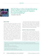 What's New in Our Understanding of the Pathogenesis of Hepatic Encephalopathy?